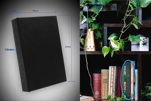 ec camara espia/oculta libro/cartapacio hd c/d.movi y v.noct