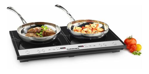 ec-hornillo de induccion doble cuisinart - ict-60