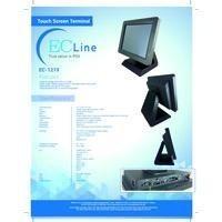 ec line terminal pos touch ec-1219 10.4'', intel atom j1900