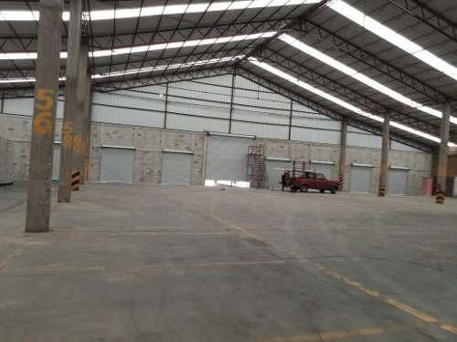 ecatepec cerro gordo nave 10,500 m2  andenes 12 espuela ffcc