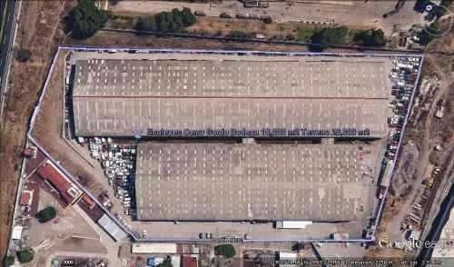 ecatepec nave 10,500m2  andenes 10 espuela ff.cc 10 furgones