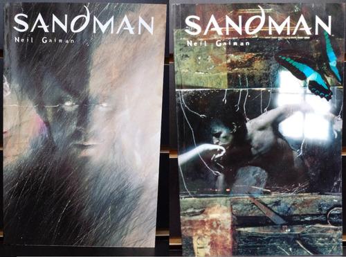 ecc sudamerica todo sandman 10 tomos + cazadores de sueños