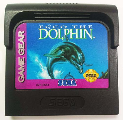 ecco the dolphin sega game gear cartucho retromex tcvg