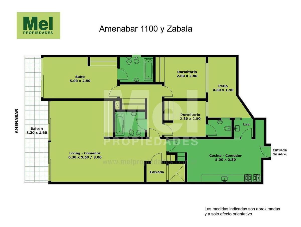 ecelente 4 ambientes refaccionado a nuevo con patio y balcon