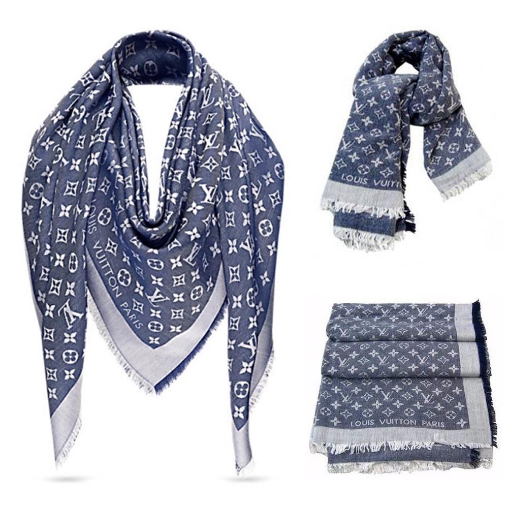 Echarpes Louis Vuitton Pashminas Monogram Varias Cores - R  94,00 em ... b1a42b8ae80