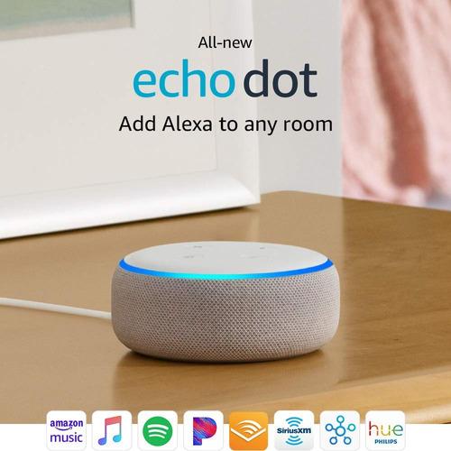 echo dot 3ra gen - smart speaker con asistente de voz alexa