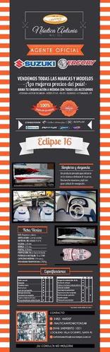 eclipse 16 con suzuki 115 hp 4t