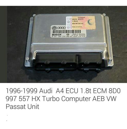 ecm  computadora de motor 1.8 passat