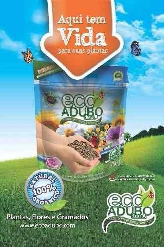 eco adubo - fertilizante orgânico 100% natural