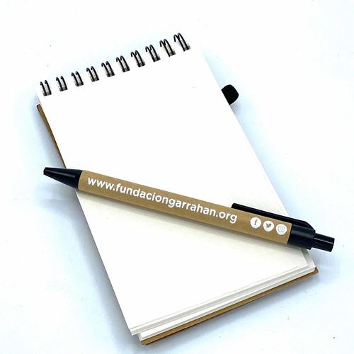 eco anotador + lapicera - fundación garrahan - e