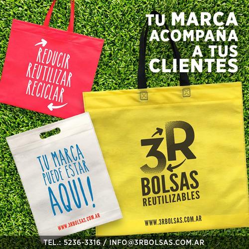 eco bolsas, bolsas ecologicas, reutilizables, de friselina