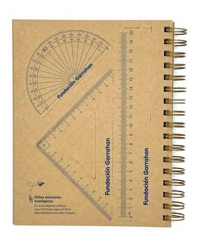 eco cuaderno escolar - fundación garrahan - e