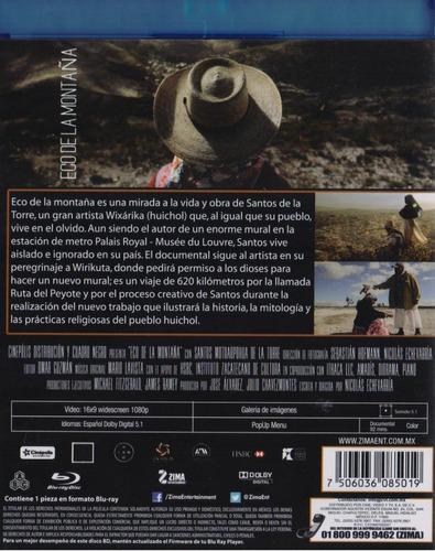 eco de la montaña documental mexicano blu-ray