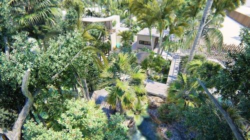 eco de lujo casas de 3 recs preventa con cenote, 3 minutos de la playa bahia de soliman ,tulum (633)