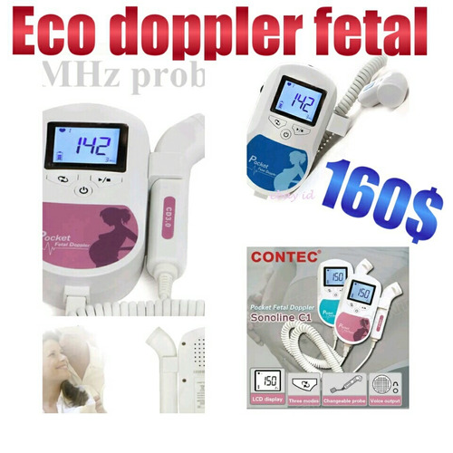 eco doppler fetal manual