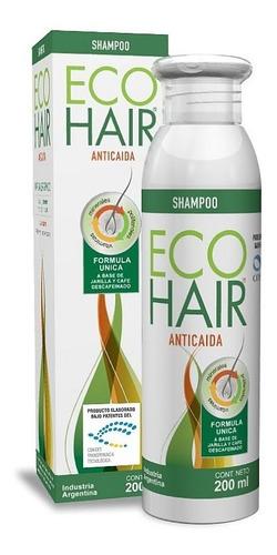 eco hair shampoo x 200 ml anti-caida del cabello ecohair