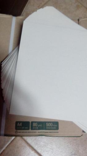 eco papel mas eco envio local eco tempo reciclado a4 80gr