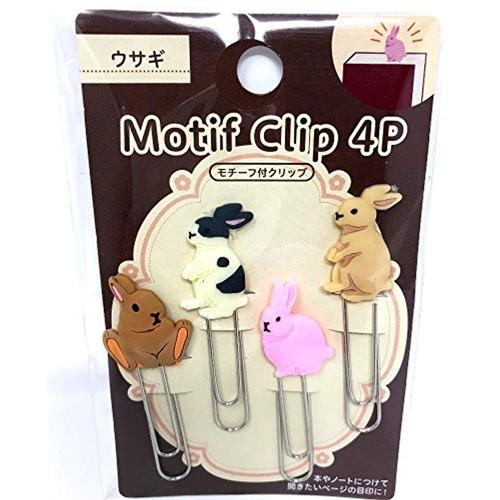 eco precioso conejo clips de papel marcador