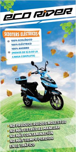 eco rider tailg scooter eléctrico bicimoto