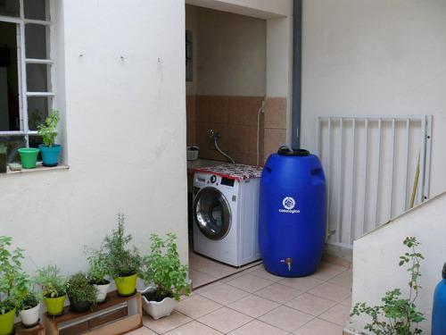 eco tanque 240l - bombona / tambor / barrica / coleta água