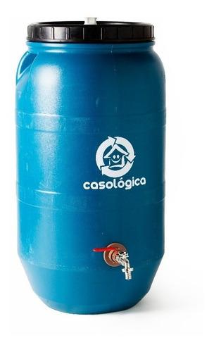 eco tanque 80l - bombona / tambor reuso água em 12x + frete!