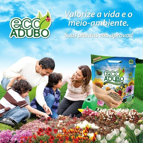 ecoadubo - adubo / fertilizante orgânico 100% natural