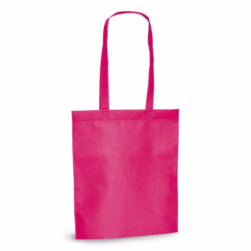 ecobag - sacola tnt 80g/m² - 27x35cm com alça de 55 cm  - un