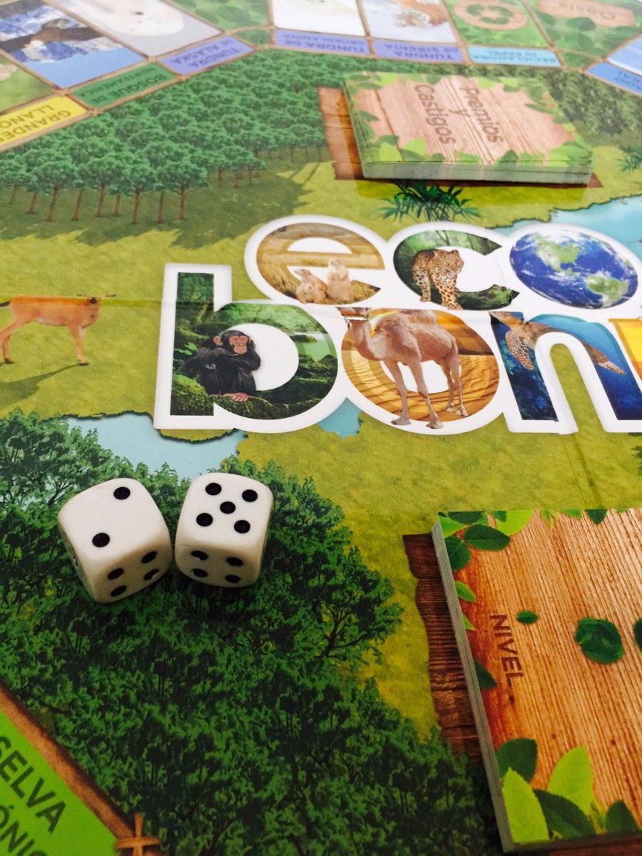 Ecobonus Juego De Mesa Educativo Conservacion Ambiental 610 00