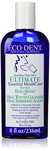 ecodent daily rinse ultimate essential mouth care menta limp