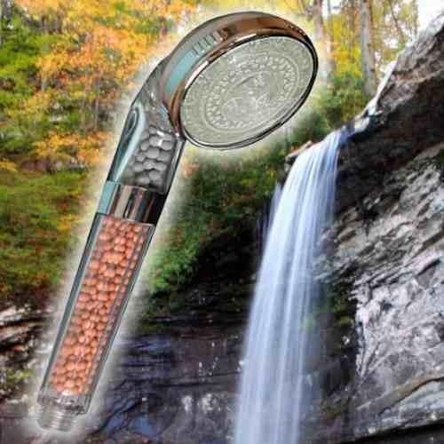 ecoducha duchador terapia relaja ducha lluvia chorros spray