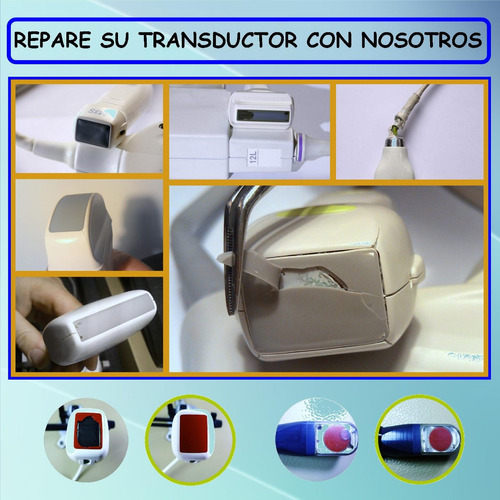 ecografo transductor reparacion