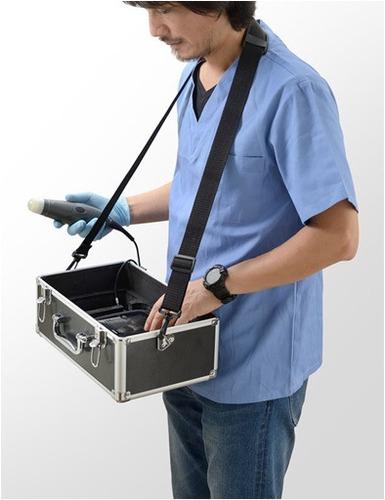 ecógrafo veterinario handscan v7 con 1 sonda