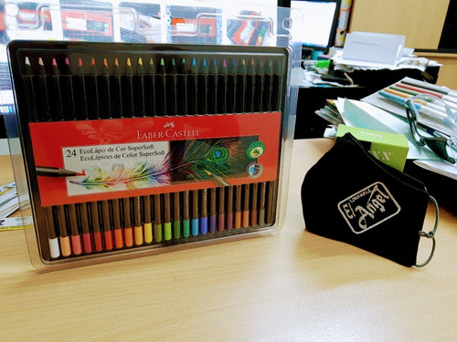 ecolapices faber castell supersoft x24