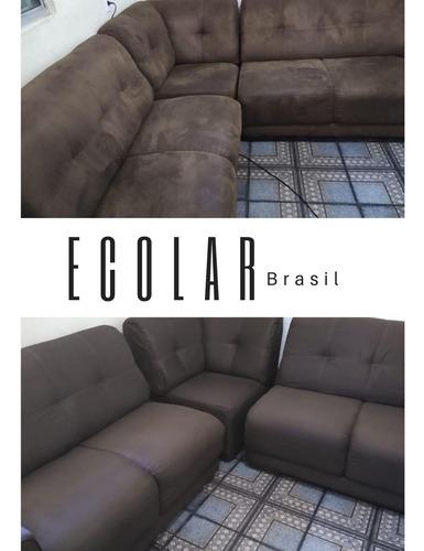ecolar brasil higienização de estofados em domicilio