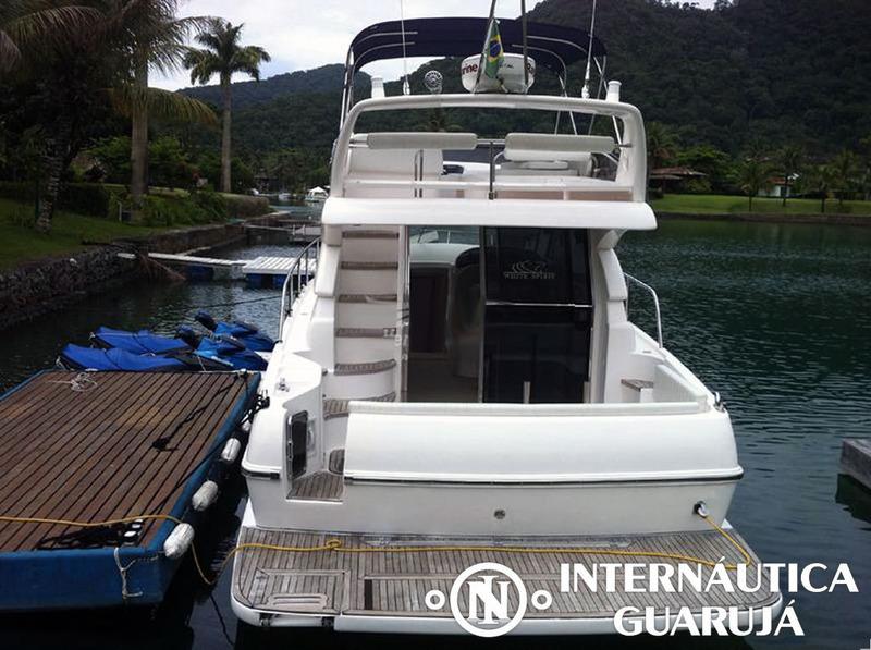 ecomariner ferretti 380 2011 | intermarine azimut phantom
