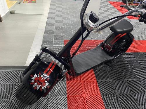 ecomoto favelca citycoco - scooter electrica, llanta ancha