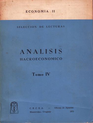 economía 2 / caracteristicas analisis económico // 4 libros