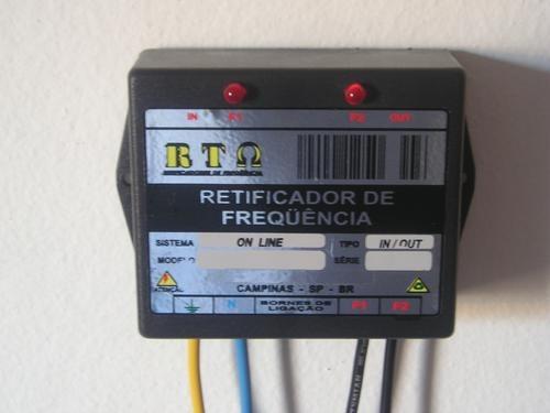 economia -25% de  energia filtro estabilizador de frequência
