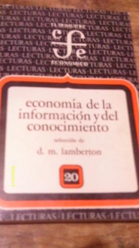 economía de la información y del conocimiento , año 1977