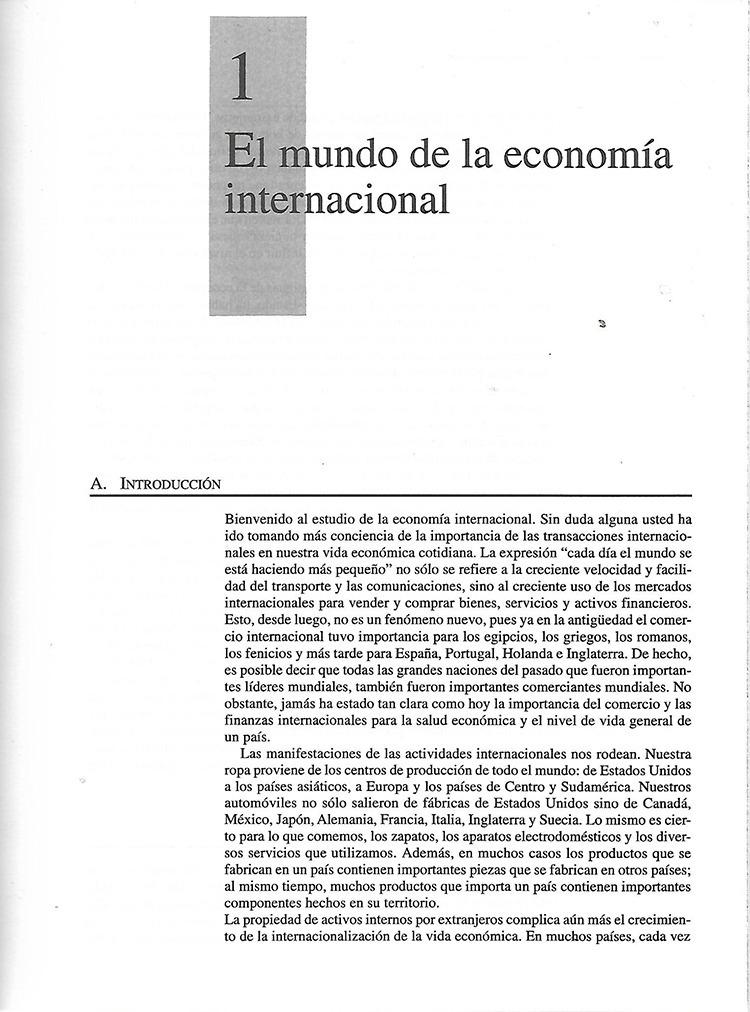 economia internacional appleyard field