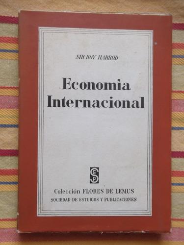 economía internacional sir roy harrod