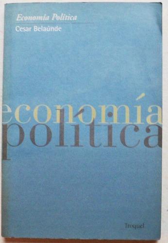 economía política / cesar belaúnde