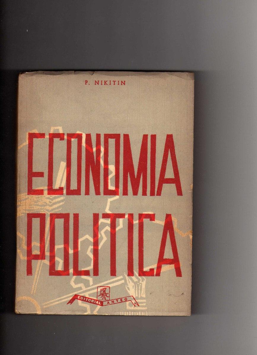 ECONOMIA POLITICA DE NIKITIN LIBRO COMPLETO PDF