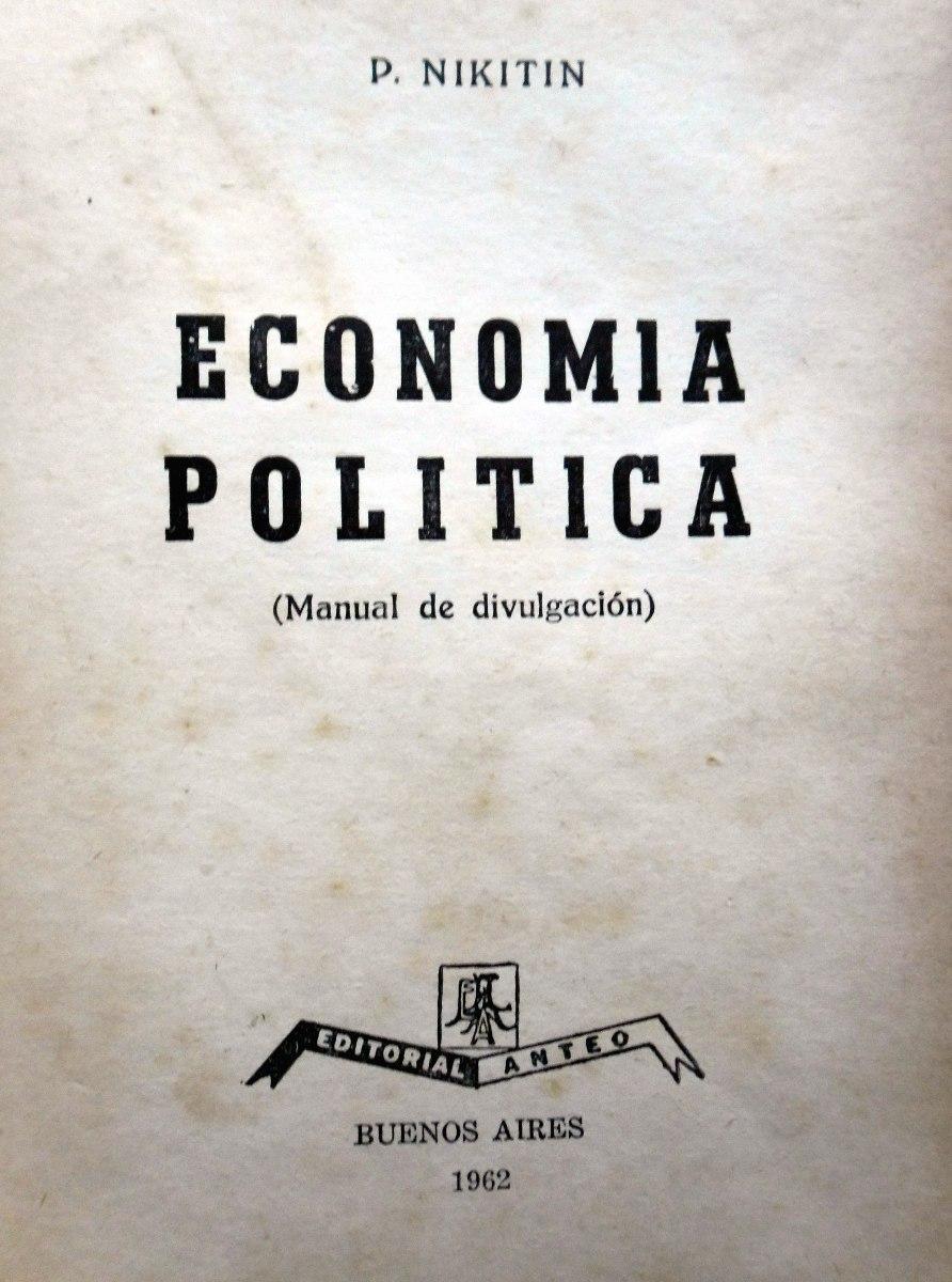 Nikitin economia politica pdf -