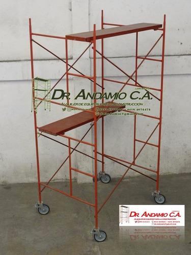 económico alquiler andamios y equipos de construc dr andamio
