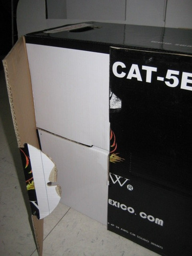 economico cable red bobina utp rj45 cat5e 305mts+100 rj45
