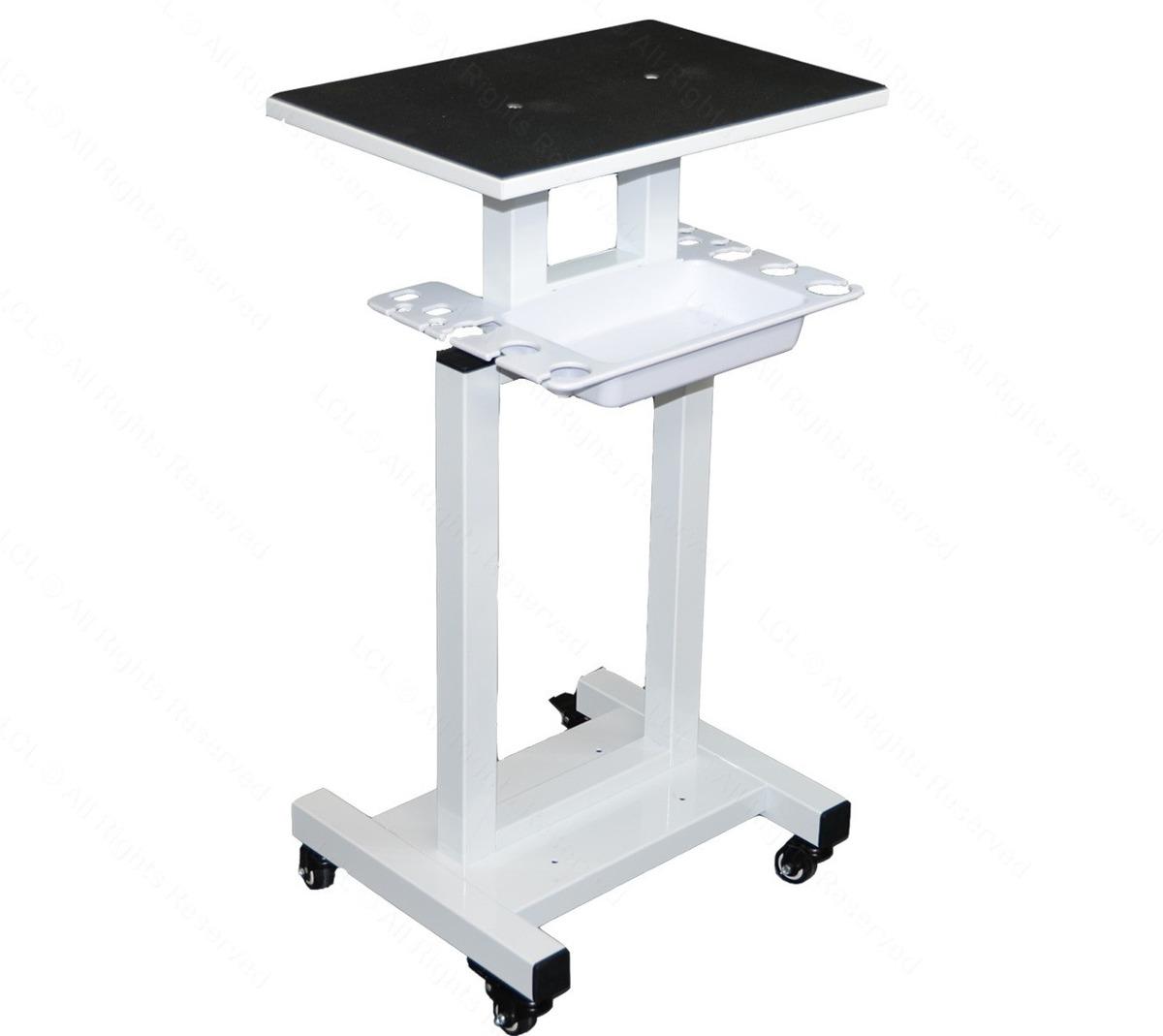 económico pedestal mesa con ruedas para maquinas spa, salon ... - Ruedas Para Mesa