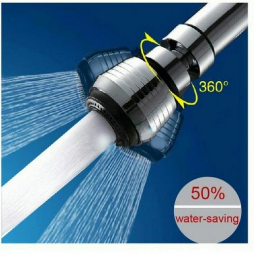 economizador de agua, orientable y cambio de chorros.