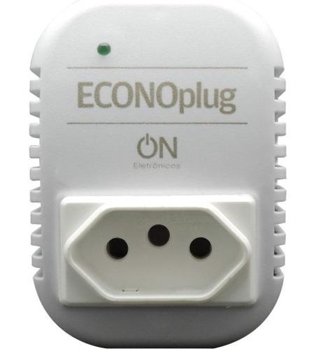 economizador  energia elétrica econoplug 35% inteligente 2pç