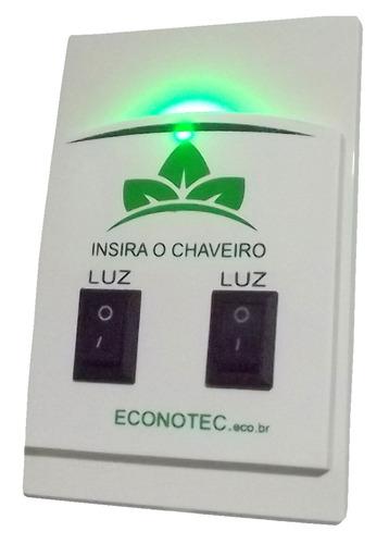 economizadores de energia para hotéis econotec - chaveiro